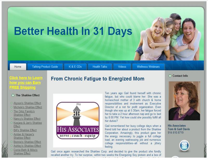 Better Health in 31 Days